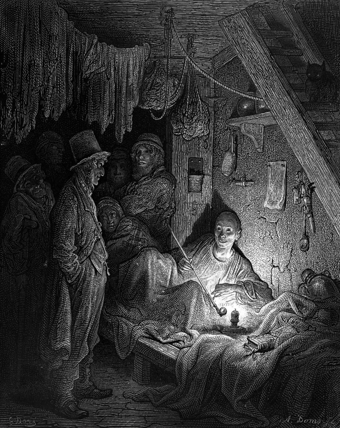 L0000880 Opium den, East end